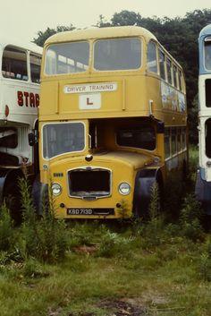 Trainer at Spittalfield Abandoned Vehicles, Abandoned Cars, Routemaster, Junk Yard, Training School, Bus Coach, London Transport, Milton Keynes, Busses