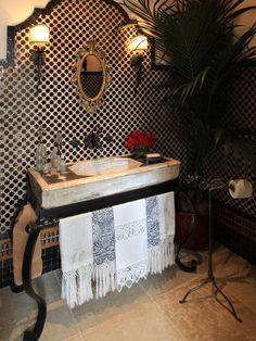 Spanish Colonial Home bath