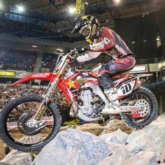 Rockstar Endurocross rider Colton Haaker