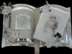 A wedding card I made using the Bookatrix board :)