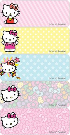 Hello Kitty® Pop Address Labels