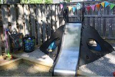 Lagde egen lekeplass i hagen! : Foreldremanualen