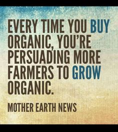 Thank you Mother Earth!
