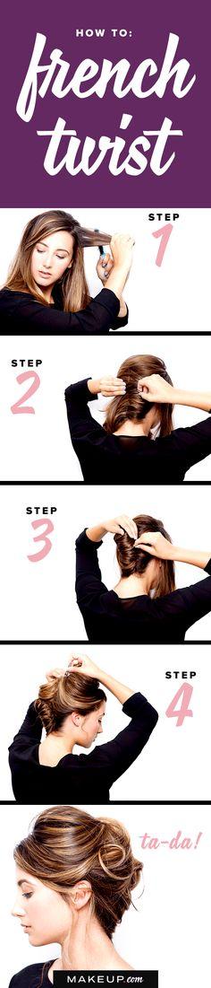 How to: French Twist @Makeupdotcom
