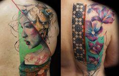 Essas tatuagens alucinantes são criadas sem estêncil ou qualquer esboço - apenas na imaginação do artista Jay Freestyle. O resultado é surpreendente!