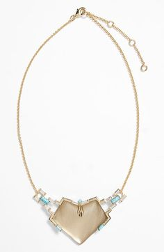 Alexis Bittar 'Lucite®' Shield Pendant Necklace available at #Nordstrom