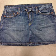 Lucky Brand Jean Skirt Cute mini Lucky Brand Skirts Mini