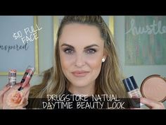 Drugstore full face-natural day time look Beauty Tutorials, Makeup Tutorials, Revlon Color, Make Up Dupes, Photo Focus, Beauty Dupes, Face Primer, Cool Tones, Drugstore Makeup