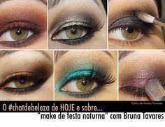 MAKE UP - maquiagem - olhos - eyes -  olhos coloridos