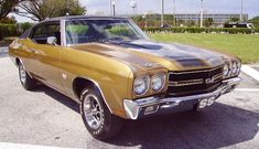 Example Of Placer Gold Paint On A 1972 Gm Chevelle Ss