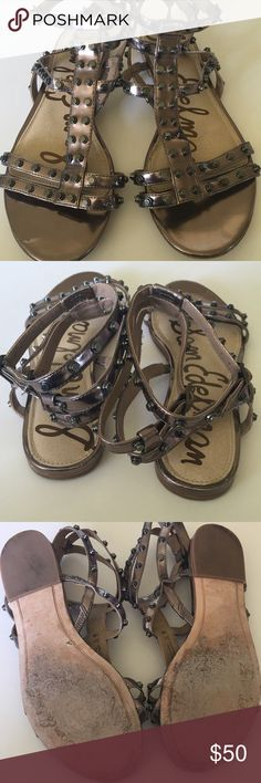 Sam Edelman  sandals Gladiator sandals in good condition! There is some light wear on the bottoms Sam Edelman Shoes Sandals