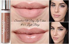 Seventeen All Day Lip Color - обзор всех оттенков*
