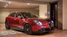 George's Giulietta is ready for a night ride!