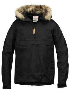 e39f51ee8ed5 Sarek AnorakBlack Куртка С Капюшоном, Мужская Одежда, Пальто, Куртки,  Обувь, Одежда
