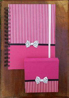 cuadernos decorados con hojas de colores - Buscar con Google
