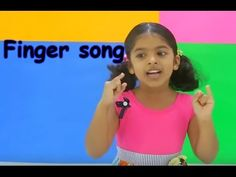 English action song - Fingers - Family fingers