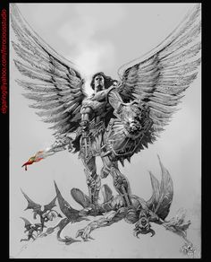 el_angel_and_devil_by_elshazam.jpg 2.480×3.075 pixels
