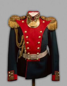 Nicholas II's Officer Uniform of the Life-Guards Grenadier Regiment ,   Between 1908 and 1917   Russia