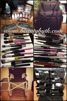 My professional makeup kit....beautybytk.com