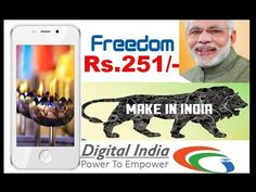 Features and specifications of Freedom 251 make in india phone , Manufactured by Ringing bell company of noida , How to purchase this phone online . Ring Bell, Digital India, Computer Internet, Video Tutorials, Freedom, Technology, Learning, Liberty