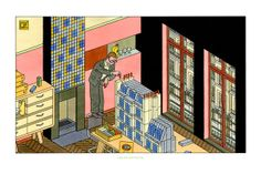 Paris vers l'abstraction - Joost Swarte - Griffioen Grafiek