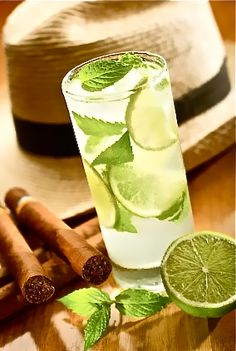 Mojito Y Maduros    #cuba #cuban #cigar  Interested in finding out more about Cuba? Reach us at info@CubaExhibit.com www.CubaExhibit.com