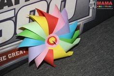 wiatrak z papieru, DIY, zrób to sam, wiatraczek, kolorowy wiatrak, zabawka, dla dzieci