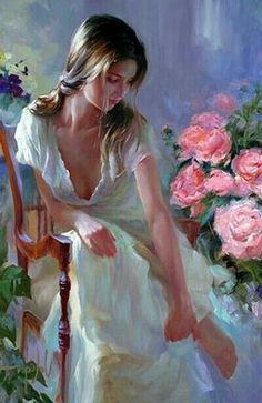 drawings and cool art - kate zambrano Illustration Art Drawing, Art Drawings, Figure Painting, Painting & Drawing, Romance Art, Fantasy Art Women, Beauty In Art, Realistic Paintings, Classical Art
