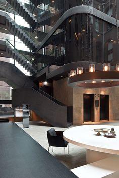 Conservatorium HotelAmsterdam / Paesi Bassi / 2011 by Pietro Lissoni