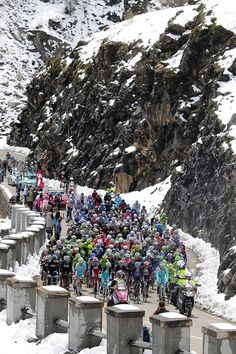 15th stage of the Giro d'Italia, from Cesana to Col Du Galbier, Italy, Sunday, May 19, 2013.