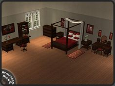 Around the Sims 2 | Objects | Bedroom | Ashley