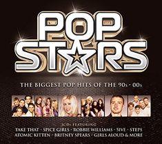 Atomic Kitten, Big Pops, Pop Hits, Robbie Williams, Spice Girls, Playlists, Britney Spears, Amazon, Stars