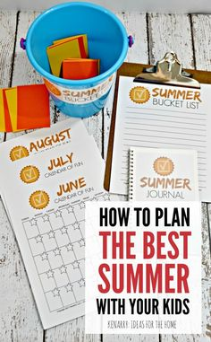 Plan the best summer