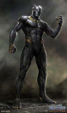 Official concept art of Killmonger in the Golden Jaguar suit! Marvel Dc Movies, Marvel Villains, Marvel Art, Marvel Characters, Star Trek Beyond, Black Panther Art, Black Panther Marvel, Alien Concept Art, Armor Concept