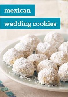 Mexican Wedding Cookies – Five ingredients and 20 minutes later, your oven is baking these sweet, melt-in-your-mouth celebration cookies. Eat now or forever hold your peace.