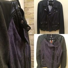 Leather jackets! The female one is vegan! On the clearance rack! Limited quantity! #DenimBarMke 317 N Broadway!