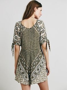 Free People Blue Moon Romper at Free People Clothing Boutique