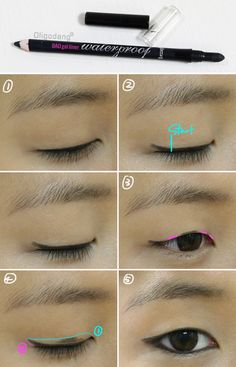 #oligodang #cosmetic #makeup #hair #K-beauty 올리고당 메이크업 아이라인그리기