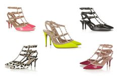 Valentino, Pumps andStuds http://modalogy.wordpress.com/2014/04/11/valentino-pumps-and-studs/