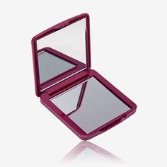 Compact mirror with magnifying side in raspberry high gloss plastic case. Fits easily in your handbag - perfect for touch-ups on the move. Size: 6 x x cm. The One, Oriflame Cosmetics, Gift Finder, Skin Care Tools, Compact Mirror, Beauty Shop, Plastic Case, High Gloss, Raspberry