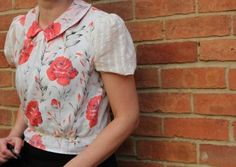 blouse as on Great British Sewing Bee (GBSB) - free patterns for this at http://quadrille.co.uk/singlepage.php?webid=the-great-british-sewing-bee-sew-your-own-wardrobe&cat=page&showimg=0&showform=0&contactform=0&download=1&sent&downloadid=MjAxNC9HQlNCX0JhYnnigJlzIERyZXNzIGFuZCBLbmlja2Vycw==