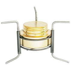 TOOGOOR Copper Alloy Portable Mini Ultralight Spirit Burner Alcohol Stove Outdoor Camping Stove Furnace with Stand B91 -- Check out this great product.