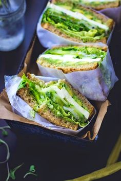 The Best Pinterest Pictures: Great green Sandwiches