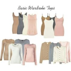Basic Soft Summer Wardrobe Essentials