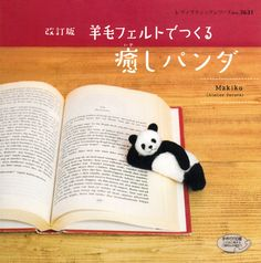 Items similar to Master Makiko Collection Felt Wool Healing Panda - Japanese craft book on Etsy Panda Bebe, Cute Panda, Red Panda, Panda Panda, Baby Animals, Cute Animals, Most Beautiful Animals, Book Crafts, My Animal