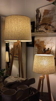 Tripod Lamp, Shades, Lighting, Home Decor, Nordic Style, Homemade Home Decor, Sunnies, Lights, Eyeshadow