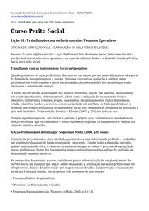 Curso perito social - Serviço Social - 4