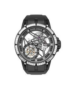 The most important timepiece takeaways from the annual Salon International de la Haute Horlogerie in Switzerland: Excalibur Creative Skeleton Brocéliande, ROGER DUBUIS.