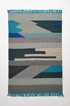 Silvered Prisms Rug - anthropologie.com