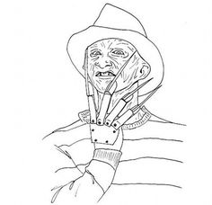 coloring pages horror movies - Google Search